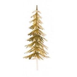 Pinheiro Dourado ou Prateado 5,5cm