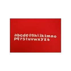 Regua Cortante Letras Minusculas Block Clikstix