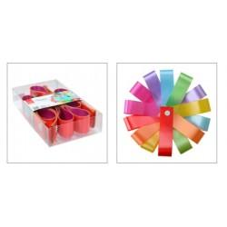 Fita Decorativa Multicolor - Pack 10 fitas