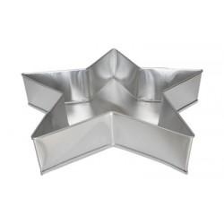 Forma Bolo Estrela 14cm U
