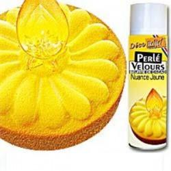 Spray Veludo Manteiga de Cacau Amarelo