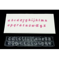 Cortante Letras Minusculas Flourish