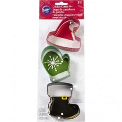 Cortantes Luva - Bota - Chapéu Natal