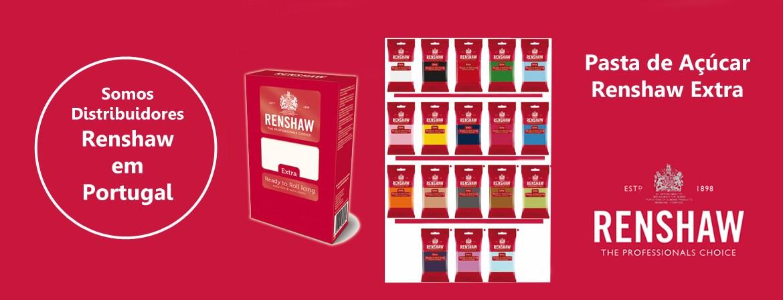 Renshaw - Pasta de Açucar para profissionais