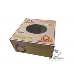 Caixa Pão de Ló 24X24X11,5cm