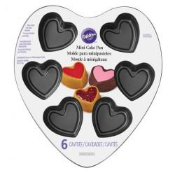 Tabuleiro 6 cavidades Coração