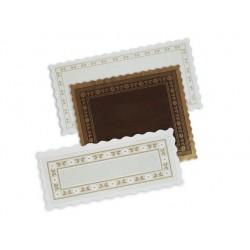Naperons Parafina Brancos Emb.100 24X50cm