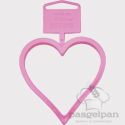 Cortante Coração Plástico 7cm