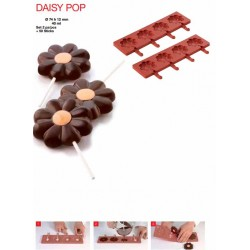 Molde Silicone Pop Margarida Cj.2