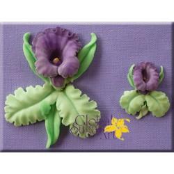 Molde Silicone Orquídea