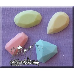 Molde Silicone Pedras Preciosas