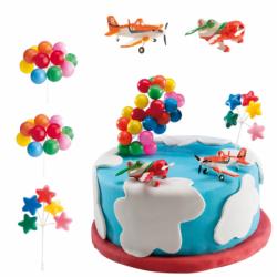 Kit Aviões com Balões