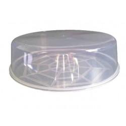 Prato Plástico com tampa 31cm