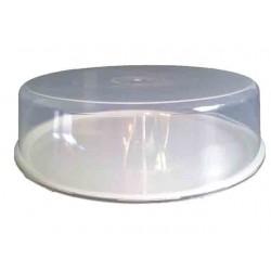 Prato Plástico com tampa 27cm