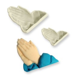 Cortante Plastico Mãos Rezar
