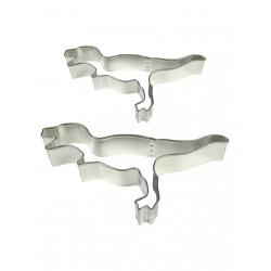 Cortantes Metal Dinossauros Cj.2 Pme