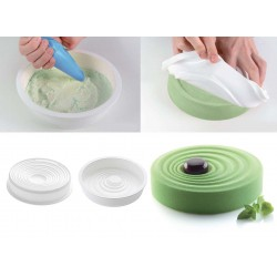 Molde Silicone Vague