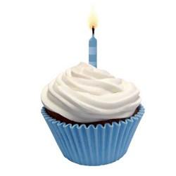 Petifures Azul Bebe para Cupcakes Cj.45