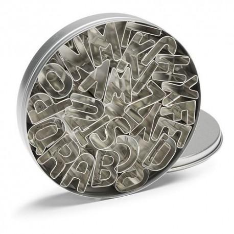 Cortantes Metal Letras 26pcs