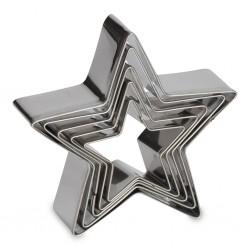 Cortantes Inox Estrela Cj.5