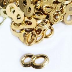 Alianças Douradas 2,5cm