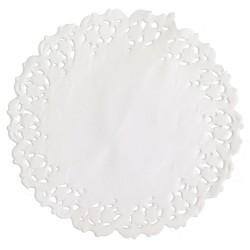 Naperons Brancos 11cm Cj.24