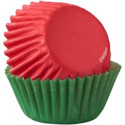 Petifures Mini Vermelhos/Verdes Cj.100