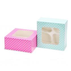 Caixas para 4 Cupcakes Cj.2
