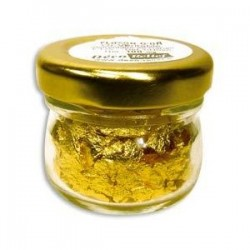 Flocos de Ouro Comestivel 100ml (22 quilates)