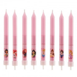 Velas Princesas Disney Cj.8