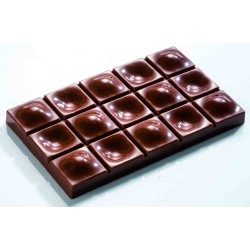 Molde Polarbonato Tablete Chocolate