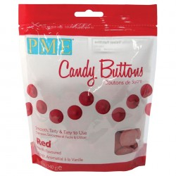Candy Buttons Vermelho (Chocolate Pastilha) 340g