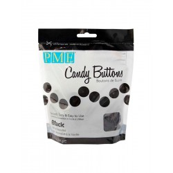 Candy Buttons Preto (Chocolate Pastilha) 340g