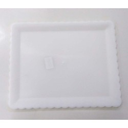 Prato Plastico Torta 38x31cm