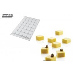 Molde Silicone Micro Quadrados