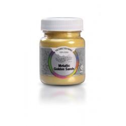 Corante em Pó com Brilho Metallic Golden Sands (Dourado) 30g