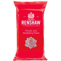 Pasta de Modelagem/Flores Vermelho 250g Renshaw
