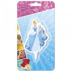 Vela Princesa Disney 2D 7,5cm