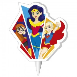 Vela Super Hero Girls 2D 7,5cm