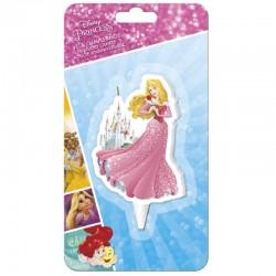 Vela Princesa Aurora Disney 2D - 7,5cm