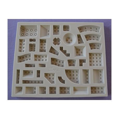 Molde Silicone Legos