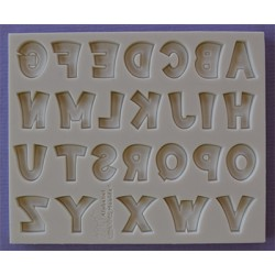 Molde Silicone Letras ( Party Font )