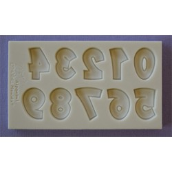 Molde Silicone Numeros ( Party Font )