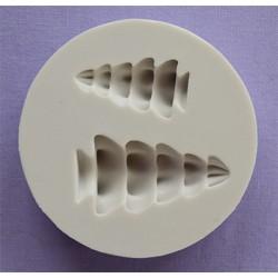 Molde Silicone Arvore de Natal 3D