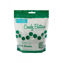 Candy Buttons Verde Escuro (Chocolate Pastilha) 340g