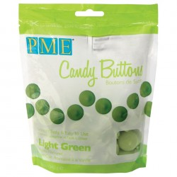 Candy Buttons Verde Claro (Chocolate Pastilha) 340g