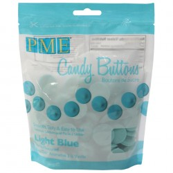 Candy Buttons Azul Bebe (Chocolate Pastilha) 340g