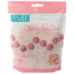 Candy Buttons Cor de Rosa (Chocolate Pastilha) 340g