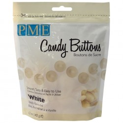 Candy Buttons Branco (Chocolate Pastilha) 340g