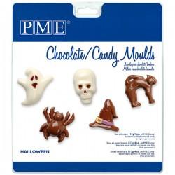 Molde Bombons Plástico Halloween
